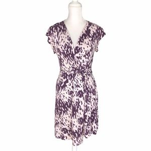 Diane Von Furstenberg silk wrap dress DVF Mindy